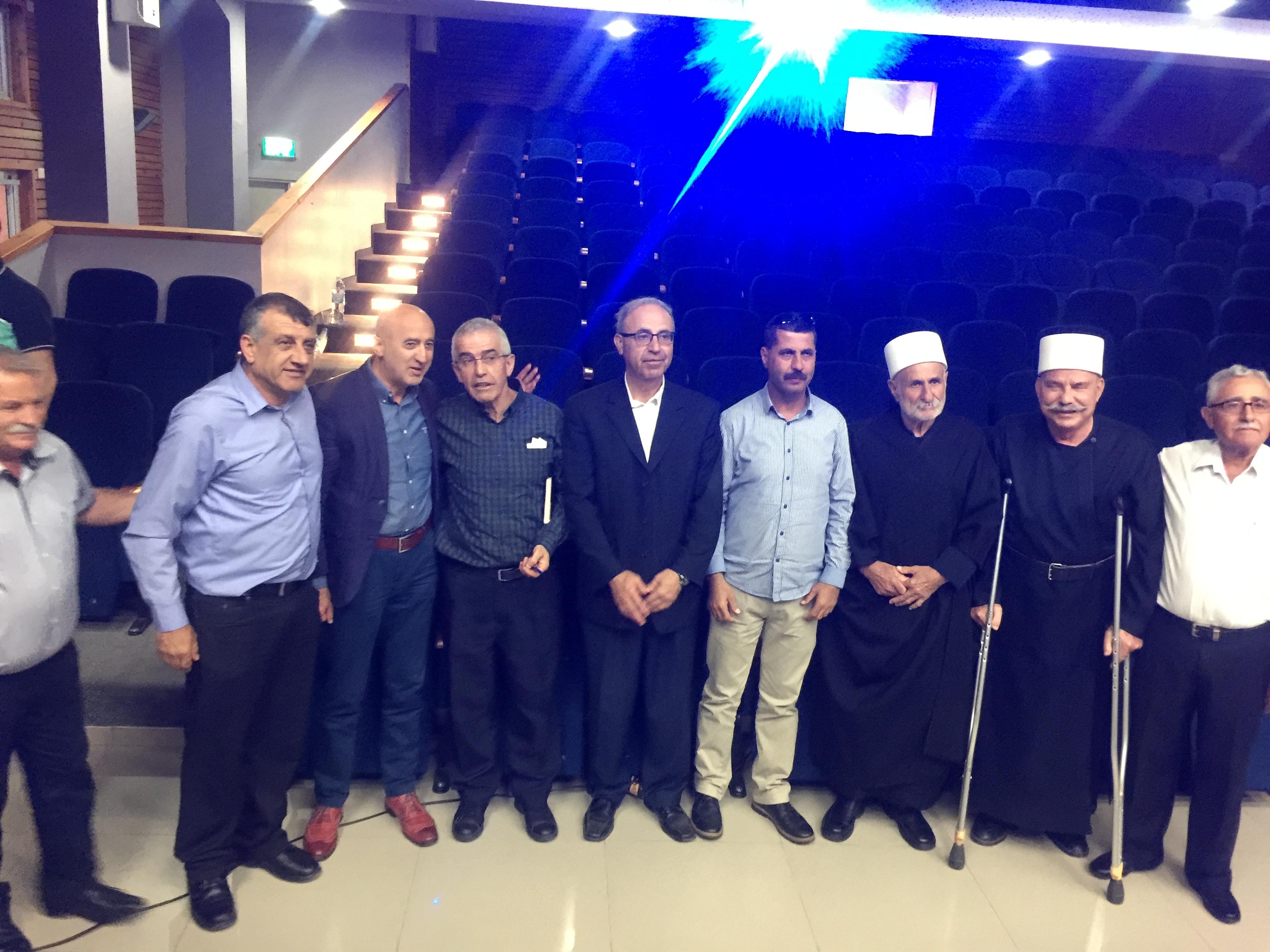 بالتعاون بين مجلس عسفيا المحلي والمركز العربي للتخطيط البديل: