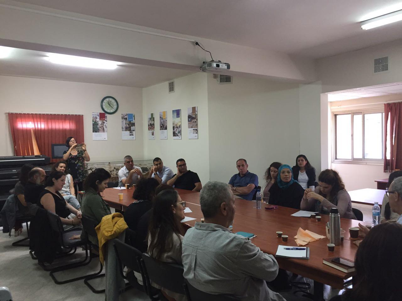 انطلاق الفوج الثالث لدورة وكلاء التغيير للمهنيين في مجال التخطيط والهندسة للمركز العربي للتخطيط البديل ومدرسة واحة السلام